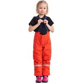 DIDRIKSONS Idre 4 Spodnie Dzieci, poppy red